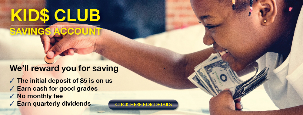 UFCU Kids Savings Account Web banner