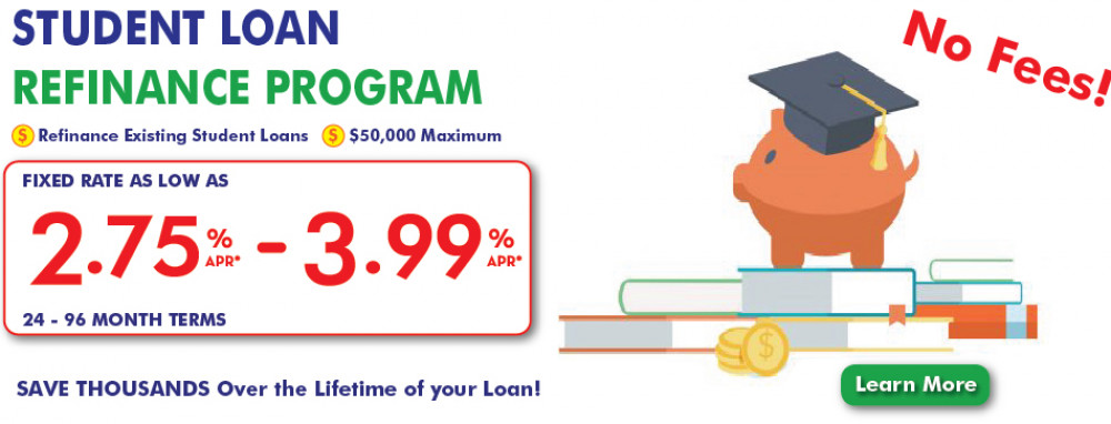 UFCU Student Loan web banner