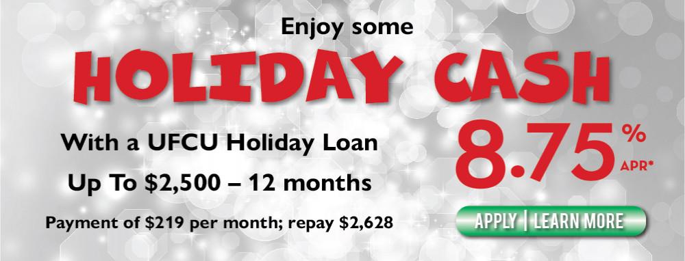 UFCU Holiday web banner
